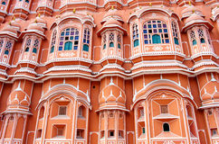 Hawa Mahal palace in Jaipur, Rajasthan Stock Photography