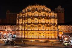 Hawa Mahal palace, Jaipur Royalty Free Stock Photo