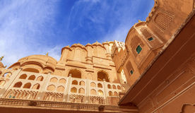 Hawa Mahal Palace (Palace of Winds), famous landmark of Jaipur Stock Images