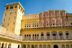 Hawa Mahal palace (Palace of the Winds) Stock Image