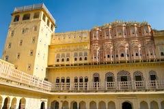 Hawa Mahal palace (Palace of the Winds). Famous Rajasthan landmark - Hawa Mahal palace (Palace of the Winds), Jaipur, Rajasthan Stock Image