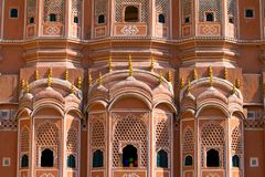 Hawa Mahal palace (Palace of the Winds) Stock Images