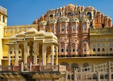 Hawa Mahal palace (Palace of the Winds) Stock Photo
