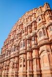 Hawa Mahal palace (Palace of the Winds), Jaipur. Rajasthan Stock Image