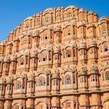 Hawa Mahal palace (Palace of the Winds). Jaipur, Rajasthan Stock Images
