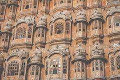 Hawa Mahal palace Palace of the Winds in Jaipur, Rajasthan Stock Photo