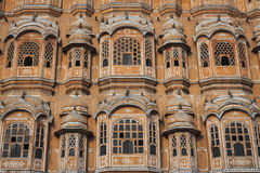 Hawa Mahal palace Palace of the Winds in Jaipur, Rajasthan Royalty Free Stock Images