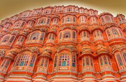Hawa Mahal palace Palace of the Winds in Jaipur, Rajasthan , India Stock Photography