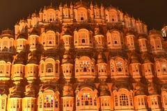 Hawa Mahal palace Rajasthani architecture, Jaipur stock image