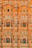 Hawa Mahal, the Palace of Winds. Jaipur, Rajasthan, India Royalty Free Stock Photography