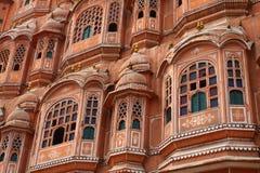 Hawa Mahal, the Palace of Winds. Hawa Mahal, the Palace of Winds, Jaipur, Rajasthan, India Royalty Free Stock Images