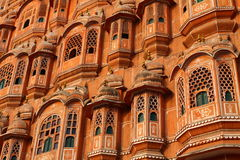 Hawa Mahal, the Palace of Winds. Royalty Free Stock Images