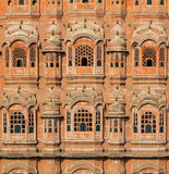 Hawa Mahal, the Palace of Winds. In Jaipur, Rajasthan, India Stock Images