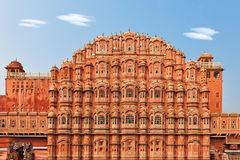 Hawa Mahal, Palace of the Winds in India Royalty Free Stock Photo