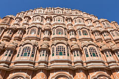 Hawa Mahal Palace of winds in Jaipur. India Stock Photography