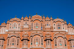 Hawa Mahal - Palace of the Winds. The Hawa Mahal in Jaipur, also know as Palace of the winds Royalty Free Stock Images