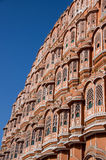 Hawa Mahal - Palace of the Winds. The Hawa Mahal in Jaipur, also know as Palace of the winds Royalty Free Stock Image