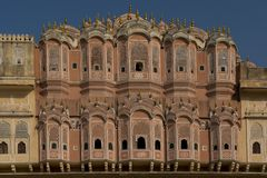 Hawa Mahal (Palace of Winds) in Jaipur Stock Photography