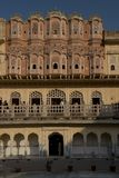 Hawa Mahal (Palace of Winds) in Jaipur Royalty Free Stock Images