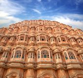 Hawa Mahal- Palace of Winds. Jaipur, India. Stock Photo