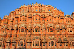 Hawa mahal - palace of winds in India Royalty Free Stock Image