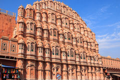 Hawa Mahal or Palace of the Winds, Jaipur. Stock Photography