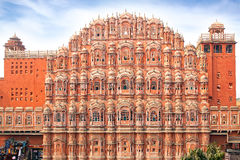 Hawa Mahal- Palace of Winds, Jaipur, India Stock Photography