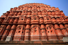 Hawa Mahal, the Palace of Winds, Jaipur, Rajasthan Royalty Free Stock Photos