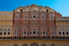 Hawa Mahal, the Palace of Winds Royalty Free Stock Image