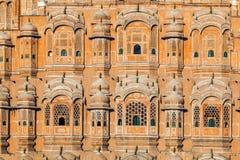 Hawa Mahal, the Palace of Winds,. Jaipur, Rajasthan, India Royalty Free Stock Image