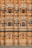 Hawa Mahal, the Palace of Winds in Jaipur, Rajasthan, India. Royalty Free Stock Photos