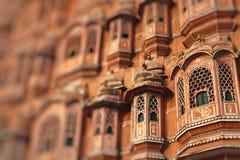 Hawa Mahal, the Palace of Winds, Jaipur, Rajasthan, India. Royalty Free Stock Photos