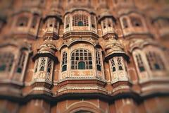 Hawa Mahal, the Palace of Winds, Jaipur, Rajasthan, India. Royalty Free Stock Photo