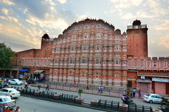 Hawa Mahal or Palace of Winds. Jaipur. Rajasthan. India Stock Image