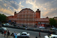 Hawa Mahal or Palace of Winds. Jaipur. Rajasthan. India Royalty Free Stock Photography