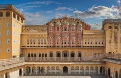 Hawa Mahal, the Palace of Winds, Jaipur, Rajasthan, India Royalty Free Stock Photos