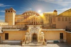 Hawa Mahal, the Palace of Winds, Jaipur, Rajasthan, India Royalty Free Stock Photo