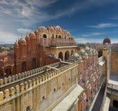 Hawa Mahal, the Palace of Winds, Jaipur, Rajasthan, India Stock Images