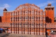 Hawa Mahal - Palace of the Winds in Jaipur, Rajasthan, India. royalty free stock photography