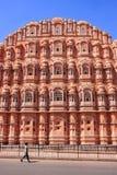 Hawa Mahal - Palace of the Winds in Jaipur, Rajasthan, India. Royalty Free Stock Images