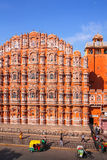 Hawa Mahal - Palace of the Winds in Jaipur, Rajasthan, India. stock images