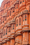 Hawa-Mahal, the Palace of winds. Old castle in India, the Palace of winds, Jaipur Royalty Free Stock Photo