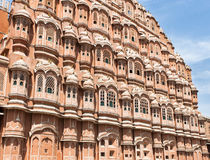 Hawa Mahal (Palace of Winds or Palace of the Breez. E), is a palace in Jaipur, India built in 1799. Its unique five-storey exterior is also akin to the honeycomb Royalty Free Stock Images