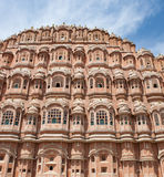 Hawa Mahal (Palace of Winds or Palace of the Breez. E), is a palace in Jaipur, India built in 1799. Its unique five-storey exterior is also akin to the honeycomb Stock Photo