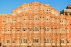 Hawa Mahal - palacio de los vientos en Jaipur Imagenes de archivo