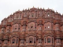 Hawa Mahal, Palast der Winde, Jaipur, Rajasthan Stockfoto
