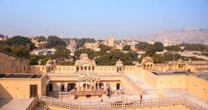 Hawa Mahal-paleis, Jaipur, Rajasthan, India Stock Afbeelding