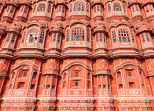 Hawa Mahal-paleis, Jaipur, Rajasthan, India Royalty-vrije Stock Afbeelding