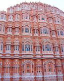 Hawa Mahal-paleis, Jaipur, Rajasthan, India royalty-vrije stock foto's