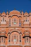 Hawa Mahal - Paleis van de Winden (detail) Stock Foto's